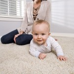 babies on carpet
