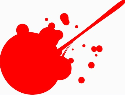 paint stain draw