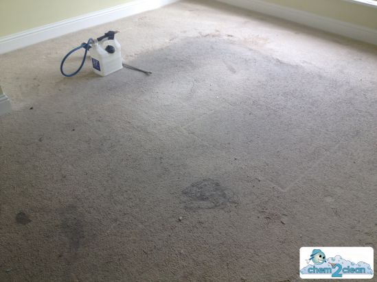 Carpet before on rental property in Dublin
